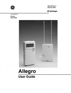 ge interlogix allegro helpdesk ls security residential and rh lssecurity ca GE Grid Automation First Alert Security System
